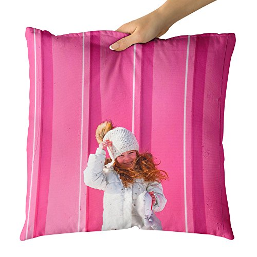 Westlake Art Decorative Throw Pillow - Pink Wall - Photography Home Decor Living Room - (Make Your Own Snowman Costumes)