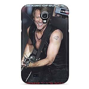 Samsung Galaxy S4 Lhh16858Saut Provide Private Custom Attractive Bon Jovi Image Protective Phone Covers -KellyLast