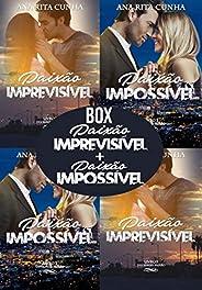 Box Duologia Paixão - Paixão Imprevisível + Paixão Impossível em um só E-book