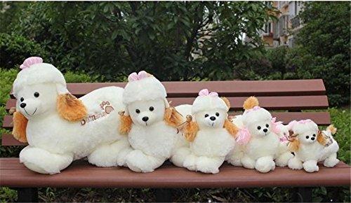 - giant plush stuffed animal toy-poodle,10'' long