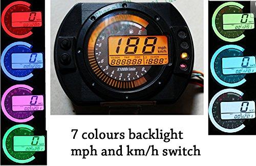 reddragonfly reddragonfly Lcd Digitale Tachimetro Contachilometri