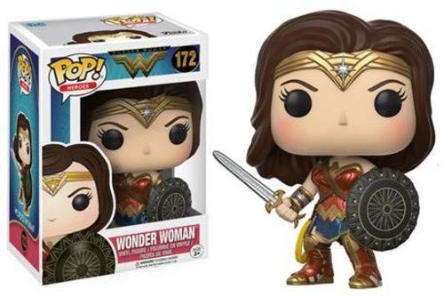 Funko POP Movies DC Wonder Woman Movie Wonder Woman Action Figure]()