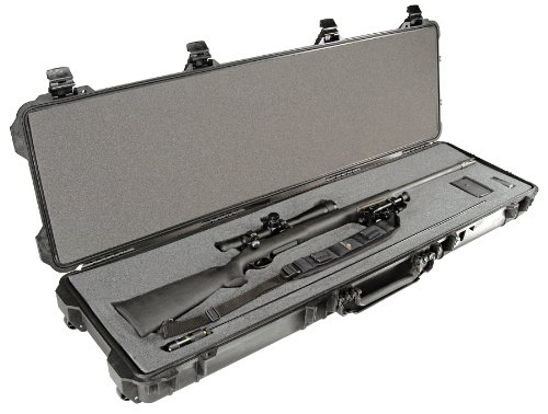 Pelican 1750 Case with Foam for Rifle Black, Outdoor Stuffs