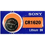 10PC SONY CR1620 1620 Lithium Watch Battery 3V 75mAh - Exp Date: 2021