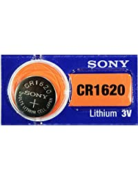 2PC SONY CR1620 1620 Lithium Watch Battery 3V 75mAh - Exp Date: 2021