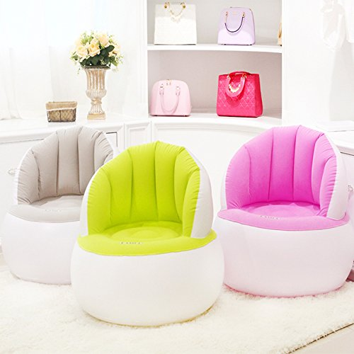 Lannmart Pouf Chair for Sitting Relax Bean Bag Inflatable Beanbag Home Furniture Living Room Sofa from Lannmart
