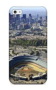 Brand New 5c Defender Case For Iphone (los Angeles Dodgers )