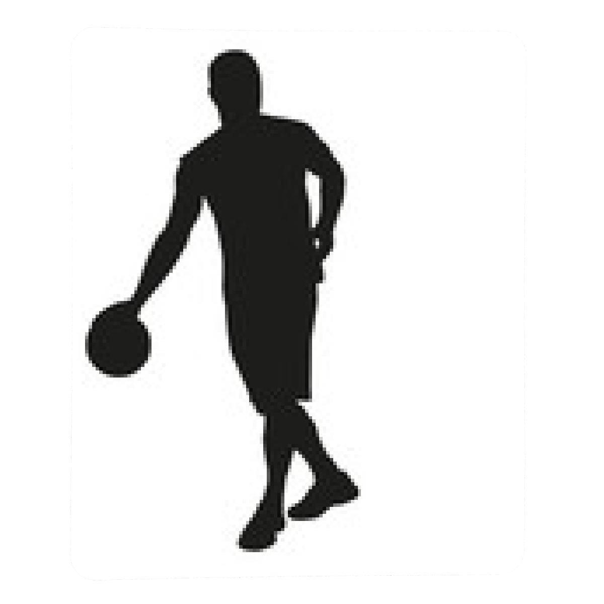 alfombrilla de ratón Regate jugador de baloncesto: Amazon.es ...