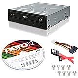 LG WH16NS40 16X Blu-ray BD/BDXL/MD M-DISC Burner Drive 3D Playback + free Nero 12 Essentials Burning Software + Sata Cable Kit