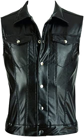 Strict Leather Mens Leather Vest Large