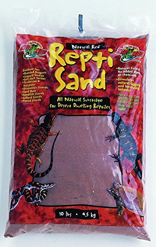 Zoo Med Reptisand Sable pour Reptile/Amphibien Natural Red 4, 5 kg SR10