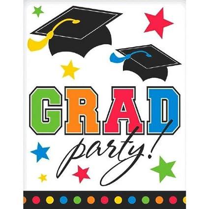 Grad Postcard Graduation Party Invitations 5quot X 4quot