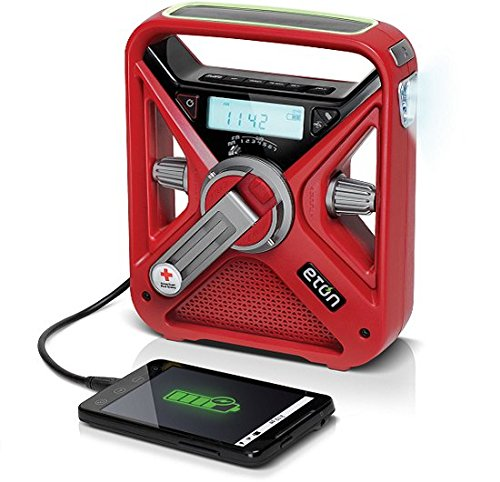 The American Red Cross FRX3+ Emergency Weather Radio with Smartphone Charger, ARCFRX3+WXR