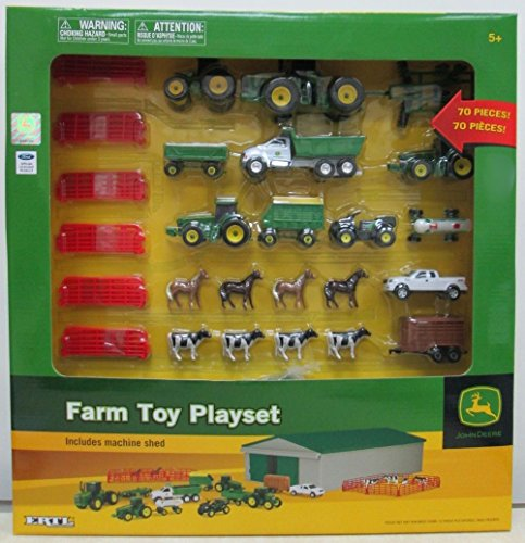 John Deere Farm Toy Playset by Ertl - TBEK46276 .HN#GG_634T6344 G134548TY89548