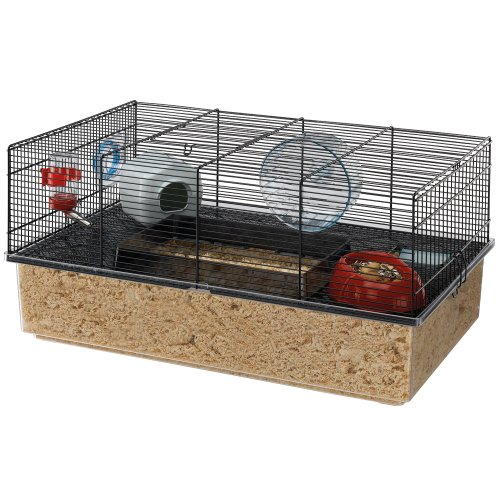 Review Ferplast Hamster Cage, Black