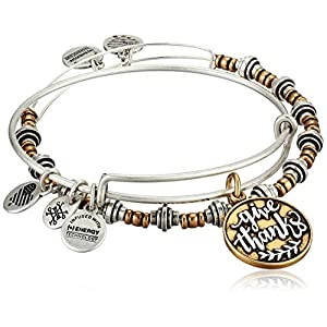 Alex and Ani Give Thanks Bangles Set of 2