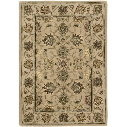 Nourison Nourison 2000 (2071) Camel Rectangle Area Rug, 2-Feet by 3-Feet  (2' x 3') ()