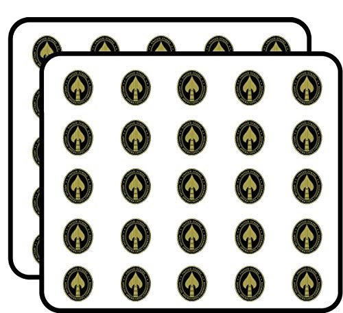 - Black Tall Oval Special Operations Command Seal (Spear Head spec ops) Sticker for Scrapbooking, Calendars, Arts, Kids DIY Crafts, Album, Bullet Journals
