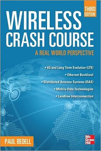 Wireless crash course third edition paul bedell ebook amazon fandeluxe Choice Image