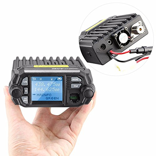 25W-Color-Screen-QYT-KT-8900D-Dual-Band-Quad-standby-Truck-Mobile-Radio-with-External-MIC-Mini-Car-Radio-Amateur-Ham-Radio