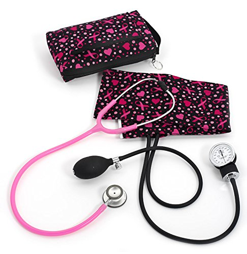 Prestige Medical Clinical Lite Combination Kit, Ribbons and Hearts Black