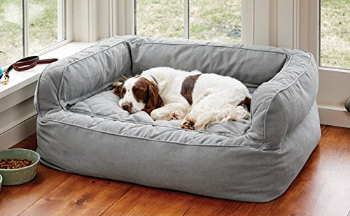 Orvis Comfortfill Couch Dog Bed Medium Dogs Up To 18-27 Kg, Glacier