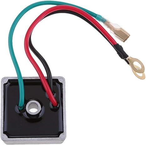 Tubayia Spannungsregler Gleichrichter Spannung Regler Gleichrichter Ersatzteile f/ür EZ GO Golfwagen