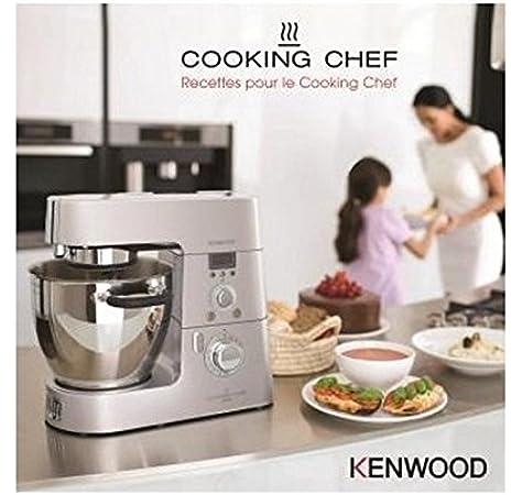 Libro de cocina KENWOOD con recetas para el Cooking Chef: Amazon.es: Hogar