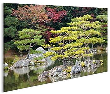 Images sur toile Jardin Japonais V2 1p Poster XXL Toile Décoration ...