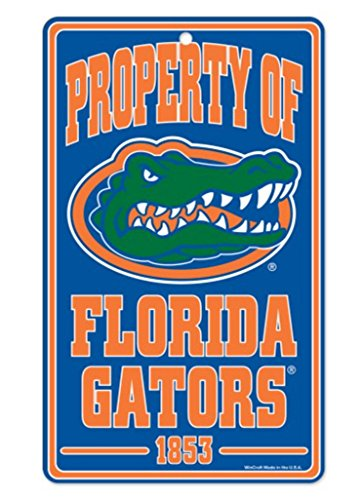 WinCraft NCAA University of Florida 86880012 Champ/Property of Sign, 7.25