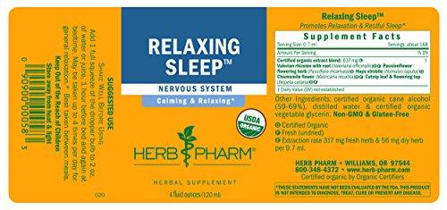 Herb Pharm Relaxing Sleep Herbal Formula with Valerian Liquid Extract - 4 Ounce by Herb Pharm (Image #6)