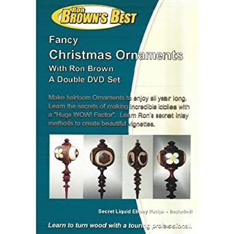 Amazon Com Fancy Christmas Ornaments Make Wood Ornaments On The