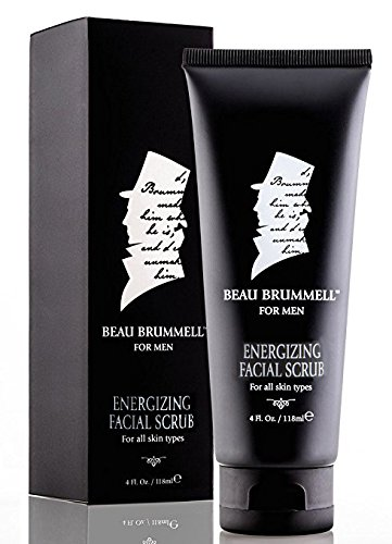The Gentlemen's Facial Scrub by Beau Brummell for Men | A Crushed Walnut Shell and Bamboo Invigorating Cleanser