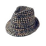 Summer Fashion Handmade Beach Boho Fedora Straw Sun Hat Men Travel Jazz Hat