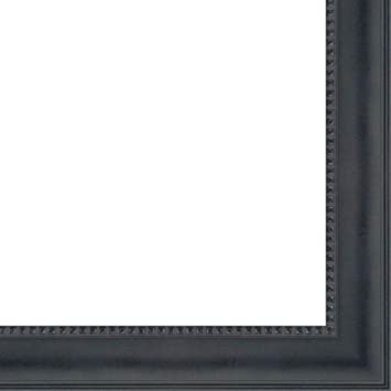 Amazoncom 135x40 135 X 40 Black Castle Solid Wood Frame With