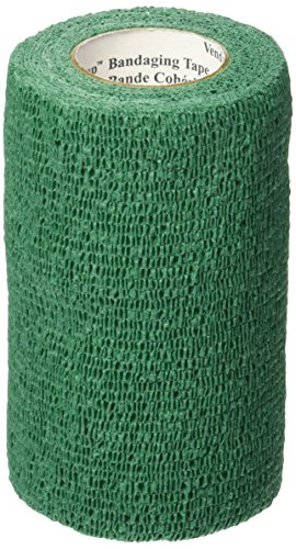 3M Vetrap Tape Roll for Dogs, Cats and Horses, 2-Inch by 5-Yard, Hunter Green