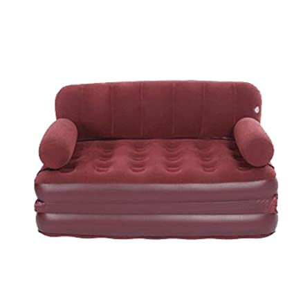 Amazon.com: Liuliangfmei Sofá cama hinchable de encaje sofá ...