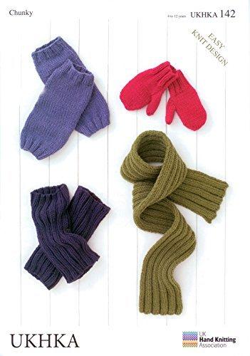 Amazon Ukhka 142 Knitting Pattern Childrens Mittens Leg Warmers