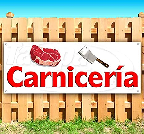 Amazon.com: Carnicería Carnicería - Cartel de vinilo con ...