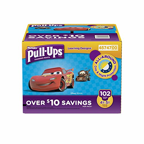 Huggies Pull-ups Traning Pants for Boys (XL, 4T-5T, 102 ct.)