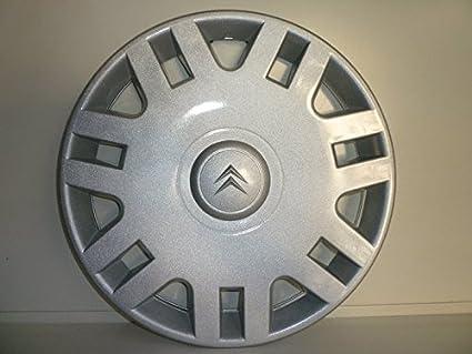 Juego de Tapacubos 4 Tapacubos Diseño Citroen C3 Desde 2003 r 14: Amazon.es: Coche y moto