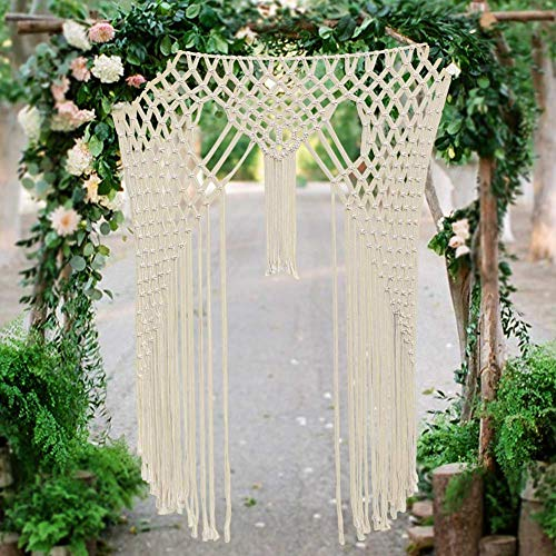 AerWo Macrame Backdrops for Boho Wedding, 59