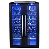NewAir AW-320ED Dual Zone 32 Bottle Thermoelectric Wine Cooler