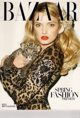 Harper's Bazaar Magazine (January 2011) Lily Donaldson. Spring Fashion Preview, Julianna Marguiles, Jerry Hall, The Fight Against Fakes - Bags Ford Women For Tom