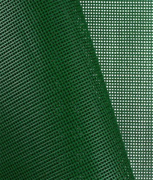 Green 9x9 Vinyl Coated Mesh Fabric - by the Yard