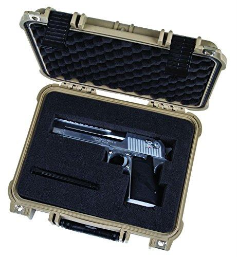 Flambeau Outdoors 1109HD-T HD Series Hard Gun Case, Small-Tan by Flambeau Outdoors (Image #4)