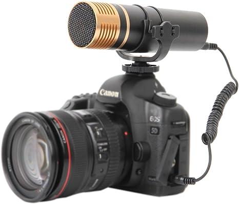 Boya VM300PS - Micrófono para cámara réflex, Color Negro: Amazon ...