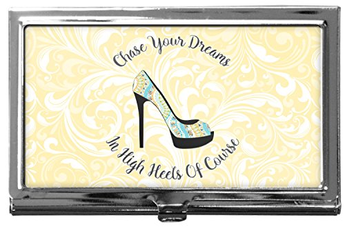 High Heels Business Card Holder
