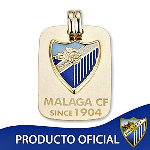 Málaga CF pendentif plaque de blindage or 27mm loi 9k. [8740] - Modèle: