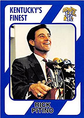 Rick Pitino Basketball Card (Kentucky Wildcats, Coach) 1989 Collegiate Collection #199